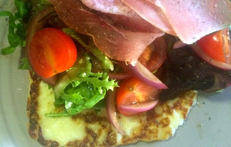 Cropped Halloumi & Prosciutto Salad image